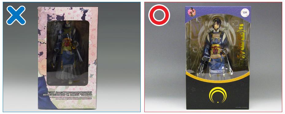 仿冒品(盜版)情報:ORANGE ROUGE製「三日月宗近」
